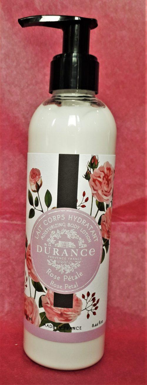 Lait corporel hydratant Rose pétale 250 ml