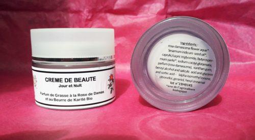 Crème visage à la rose de Damas 50 ml