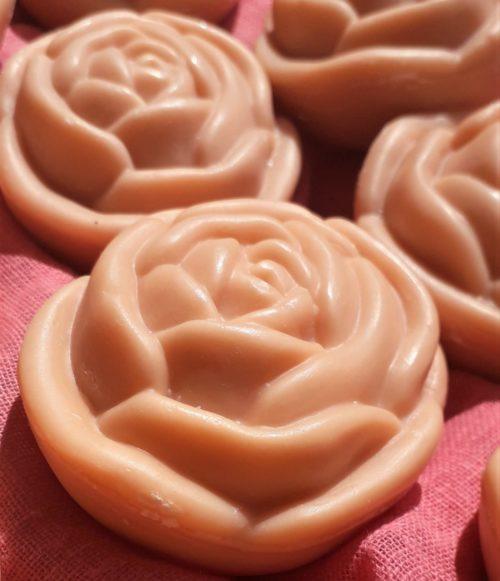 Savon fleur parfum rose ancienne 100g