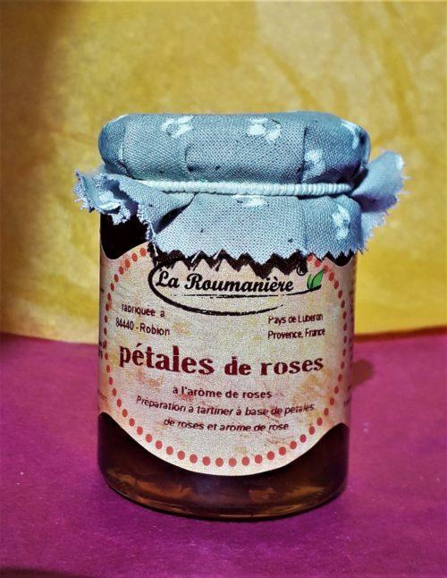 Confiture de pétales de roses 125g