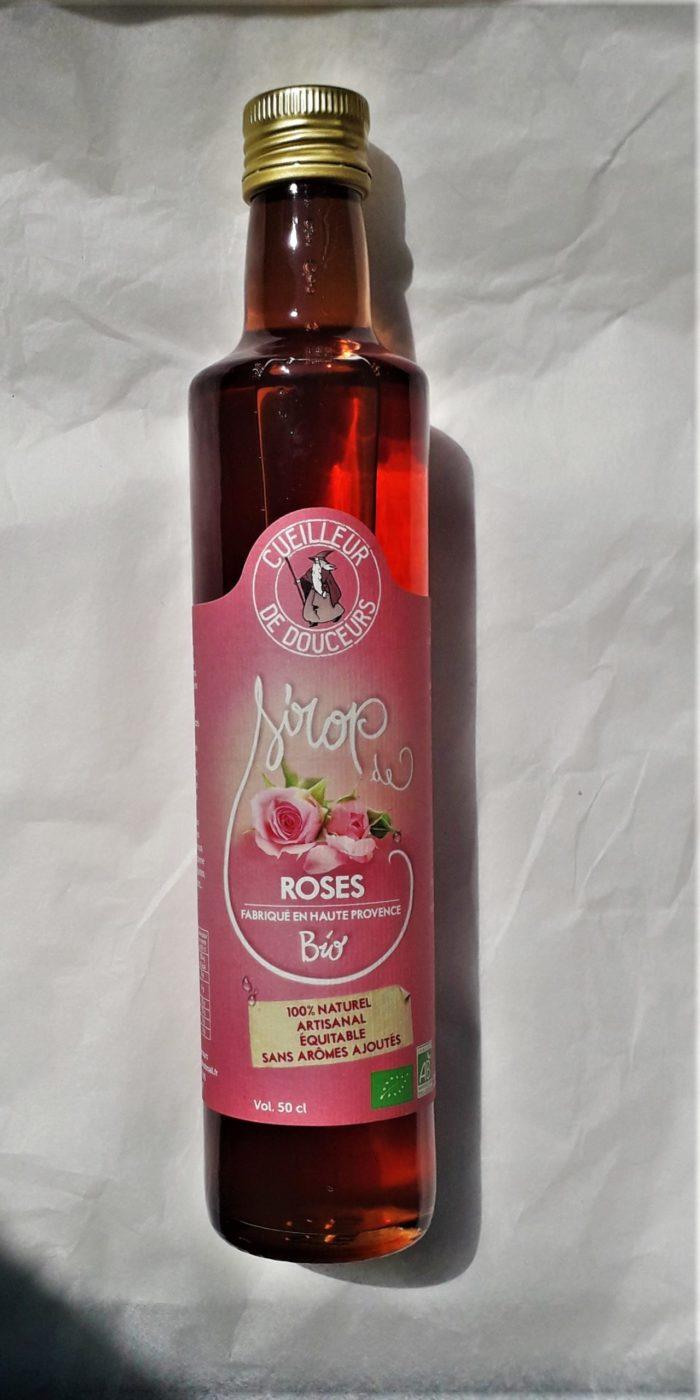 Sirop de rose biologique 50 cl