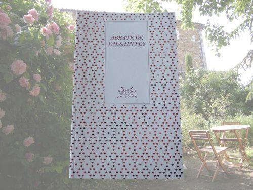 Livre livret de l'abbaye de Valsaintes