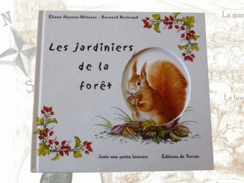 """Livre pour enfants """"les jardiniers de la forêt"""""""