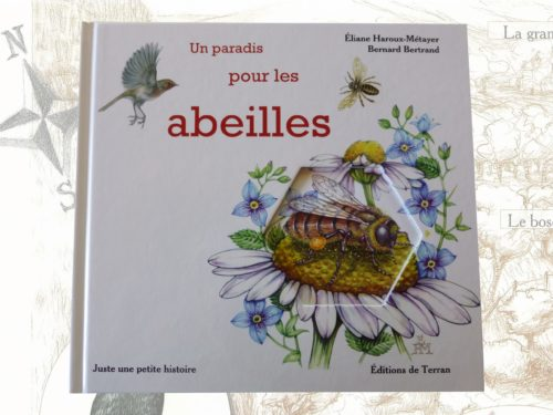 """Livre pour enfants """"un paradis pour les abeilles"""""""