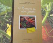 Livre mémoire de mon jardin