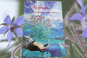 Livre pour enfants Nova et les petites étoiles bleues