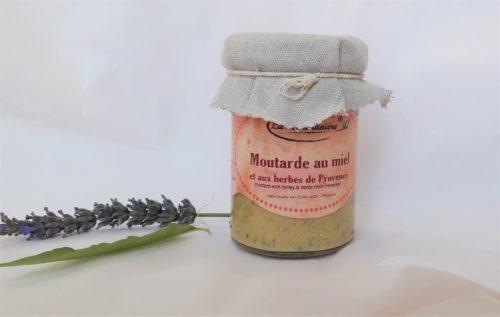 Moutarde au Miel & herbes de provence 210g