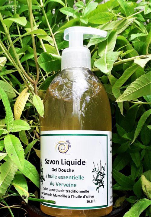 savon liquide à l'huile essentielle de Verveine