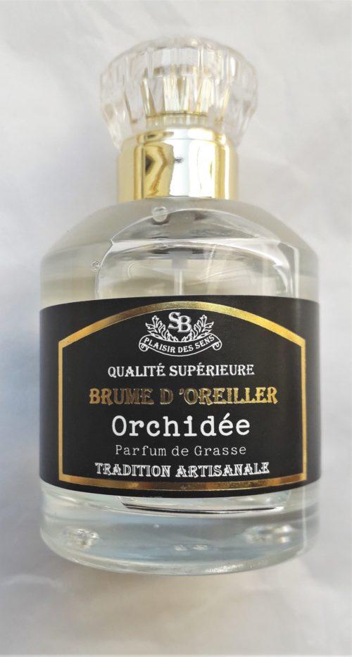 """Brume d'Oreiller """" Orchidée """" 50 ml"""