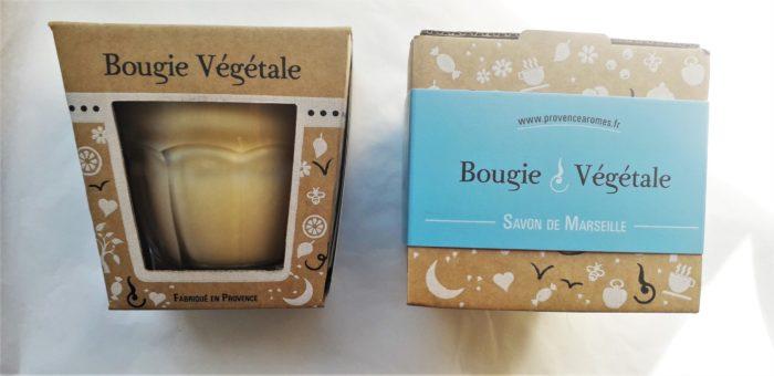 """Bougie """" Savon de Marseille """""""
