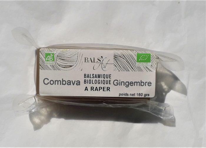 """Balsamique à raper """" Combava & Gingembre """""""