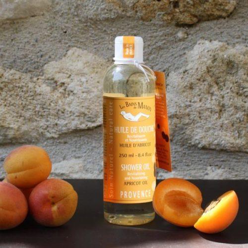 Huile de douche à l'Abricot 250 ml