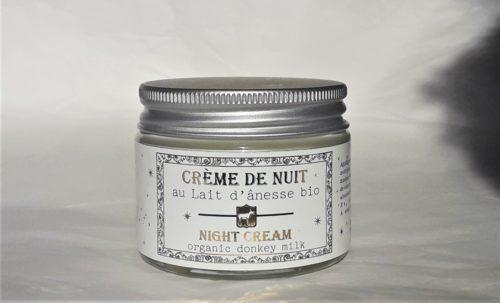 Crème de nuit au lait d'ânesse bio 40ml