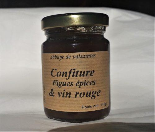 Confiture figues épices & vin rouge 110g