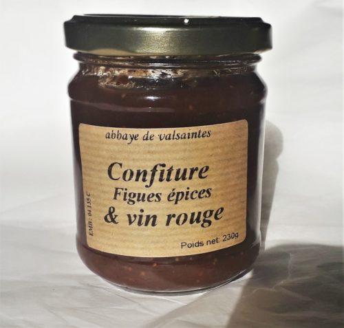 Confiture figues épices & vin rouge 230 g