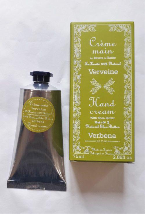 """Crème main """" verveine """" 75ml"""