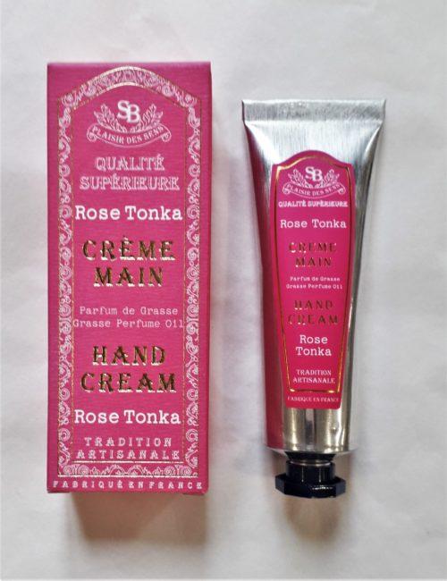 "Crème main "" Rose tonka "" 30 ml"