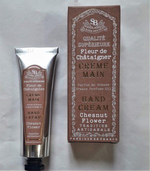 """Crème main """" Fleur de châtaignier """" 30 ml"""