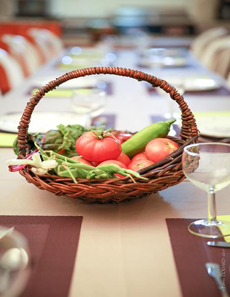 Panier restaurant abbaye de valsaintes