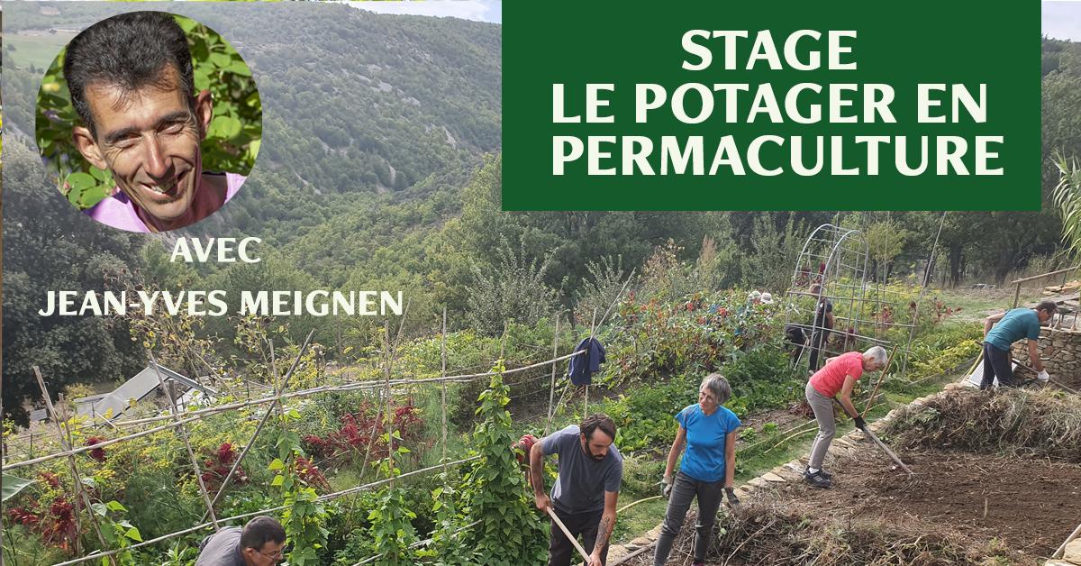 stage le potager en permaculture