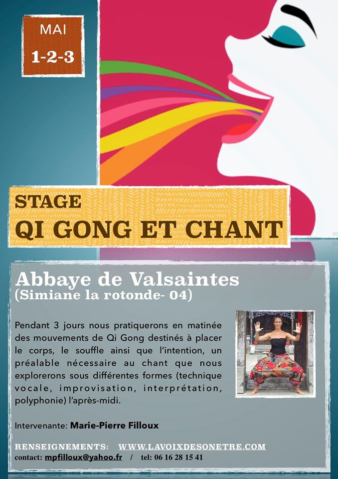 Stage Qi gong et Chant