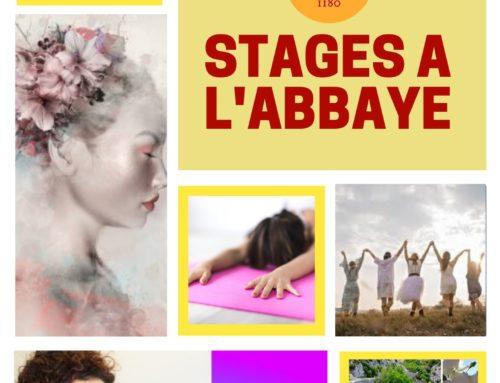 Stages à venir à Valsaintes – Janvier à juin 2021
