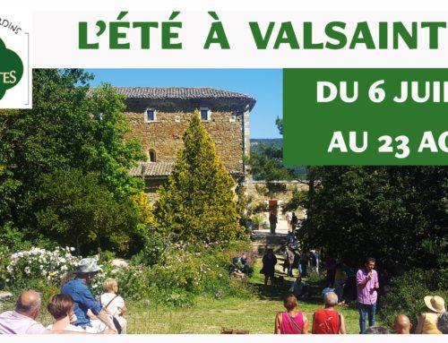 L'été à Valsaintes, c'est tout un programme !